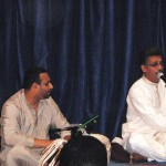 Gurprit performing with Bilal Lalmohamad